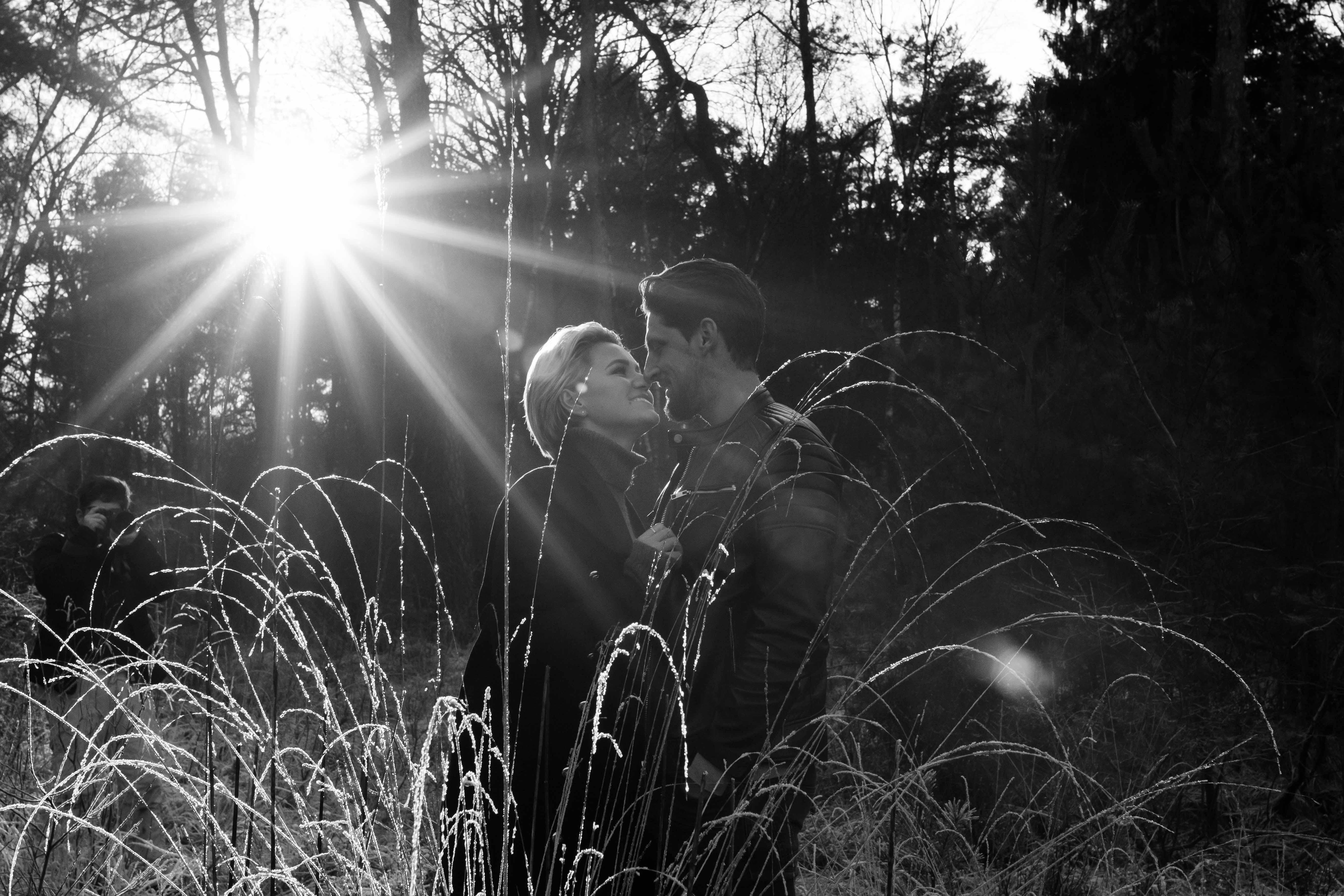 Marleen Verheul Fotografie, loveshoot, ondergaande zon